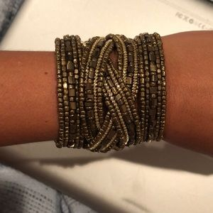 Jewelry - Boho Gold Wrap Bracelet